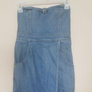 Dresses & Skirts - no hands, tulip skirt, jeans dress
